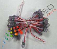 9-mm LED Direct module red glow color